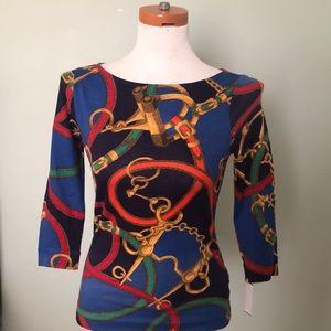 Multicolor Ralph Lauren blouse